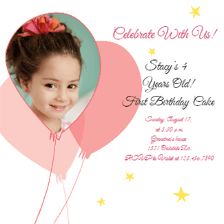 150 free printable birthday invitation card templates page 3 of 3