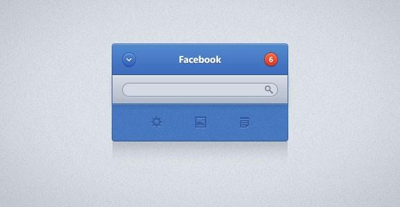 facebook_ui_widget_psd