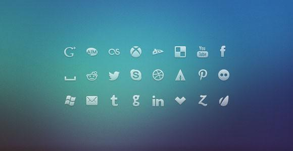 social_network_psd_icons