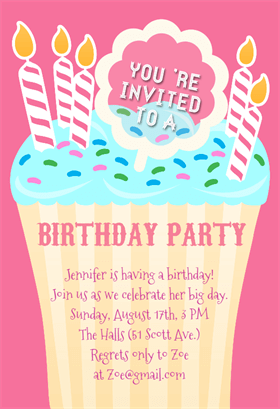 150+ Free Printable Birthday Invitation Card Templates | Page 3 of ...