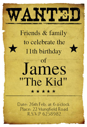 150 Free Printable Birthday Invitation Card Templates