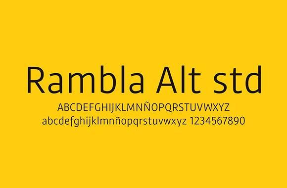 rambla_alt_std_free_font