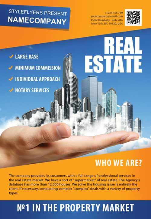 real_estate_company_free_flyer_template