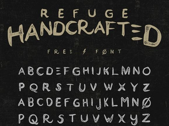 refuge_free_font