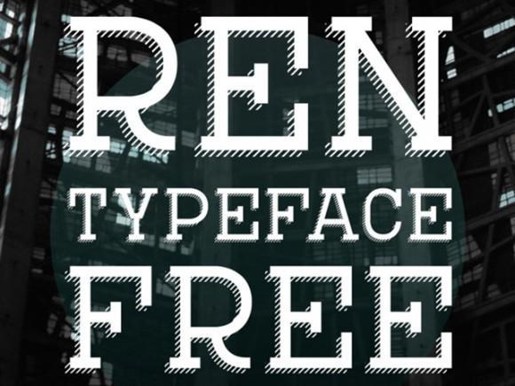 ren_free_font
