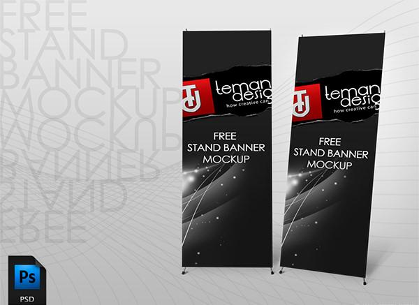 37 awesome free banner mockups psd templates utemplates. Black Bedroom Furniture Sets. Home Design Ideas