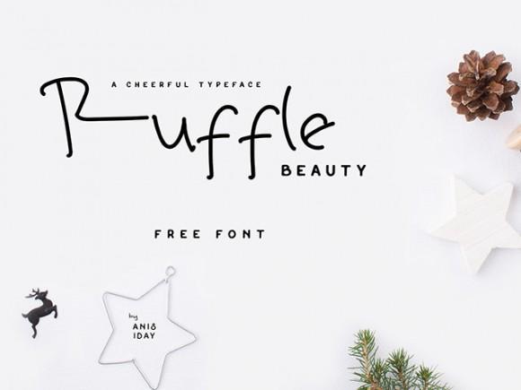 ruffle_beauty_free_font