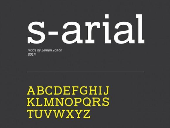 sarial_free_font