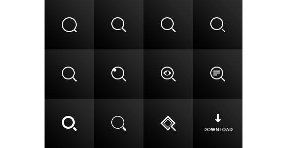 11_search_icons_psd