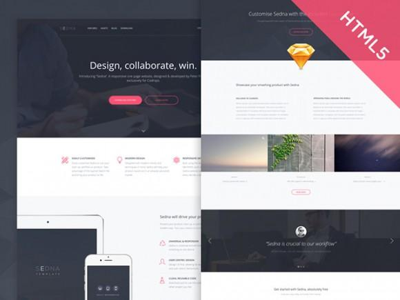 sedna_one_page_website_template