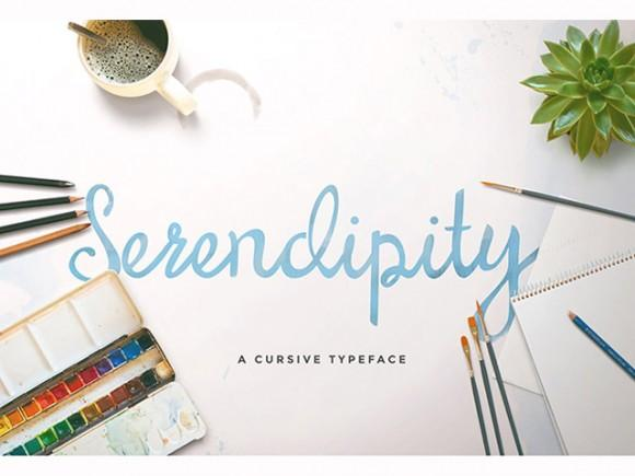serendipity_script_free_font
