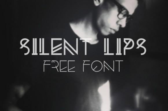 silent_lips_free_font