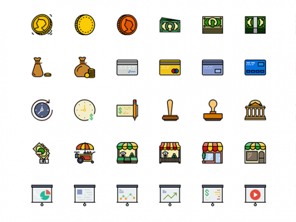 170_retro_business_icons_for_sketch