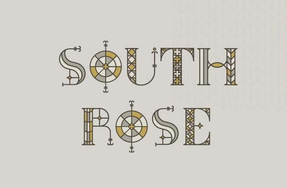 south_rose_free_font