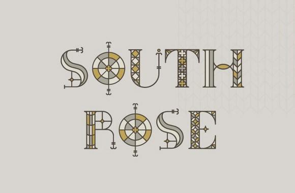 south_rose_free_font