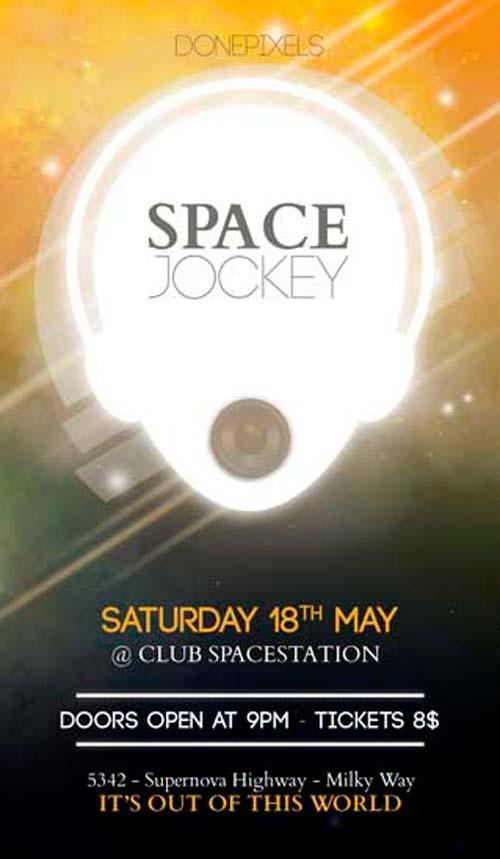 space_jockey_free_dj_flyer_psd_template
