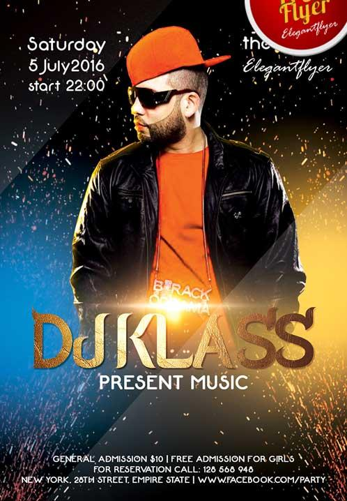 free_special_guest_dj_party_flyer_template