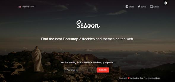 bootstrap_coming_soon_page_template