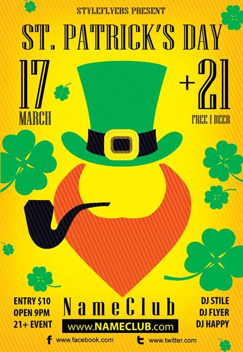 st._patricks_day_free_flyer_template