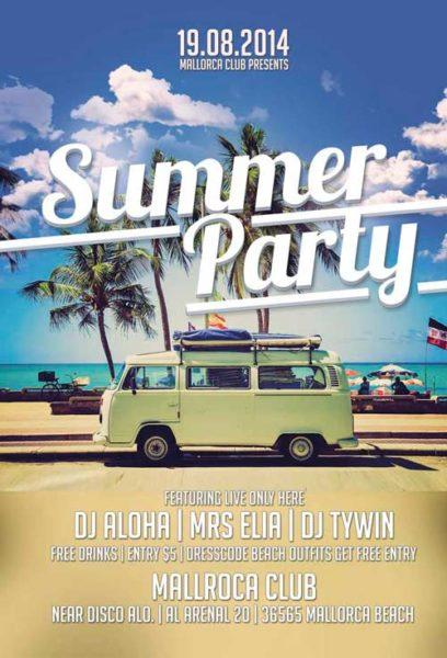 summer_party_free_flyer_template