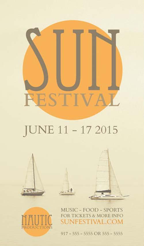 free_sun_festival_flyer_psd_template