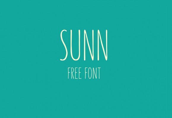 sunn_free_font