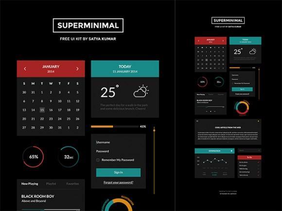 superminimal_free_ui_kit