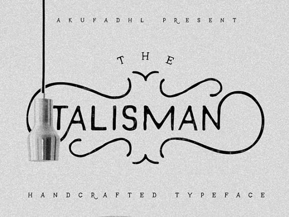 talisman_free_font