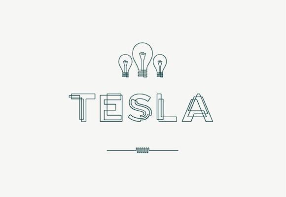tesla_free_font