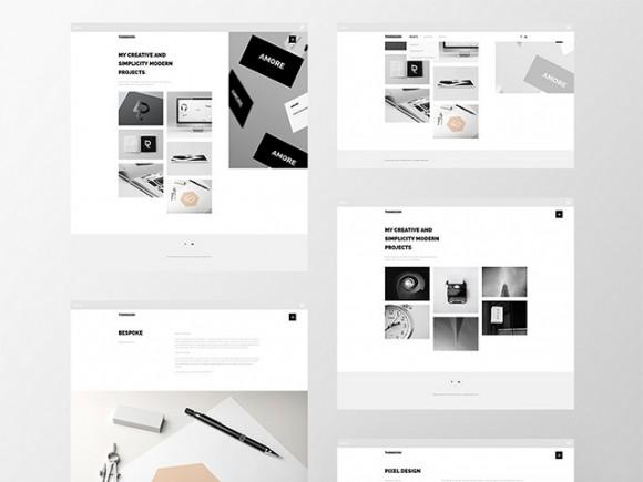 thomsoon_free_portfolio_template