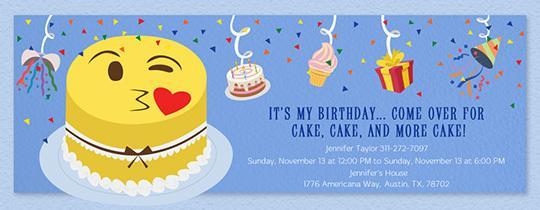 Free Emoji Birthday Card