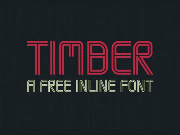timber_free_font