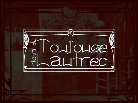 toulouse_lautrec_free_font