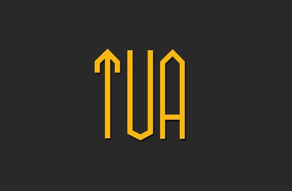 tua_free_uppercase_font