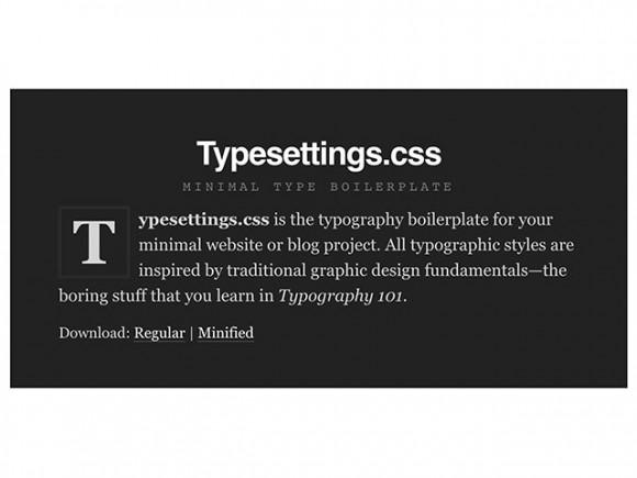 typesettings_css_a_type_boilerplate