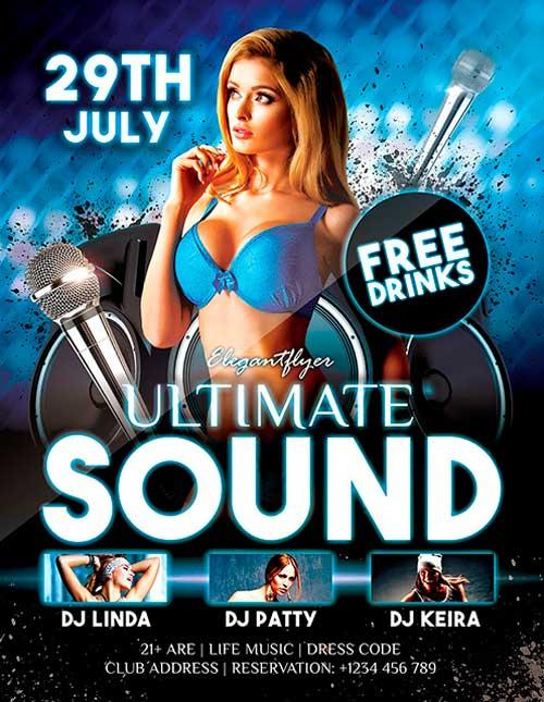 free_ultimate_sound_dj_psd_flyer_template