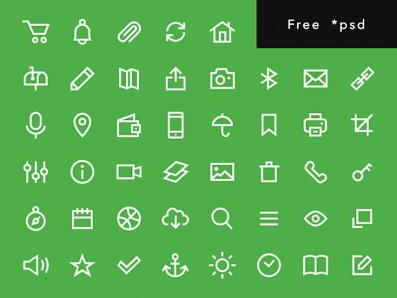 uniicons_200_free_psd_icons
