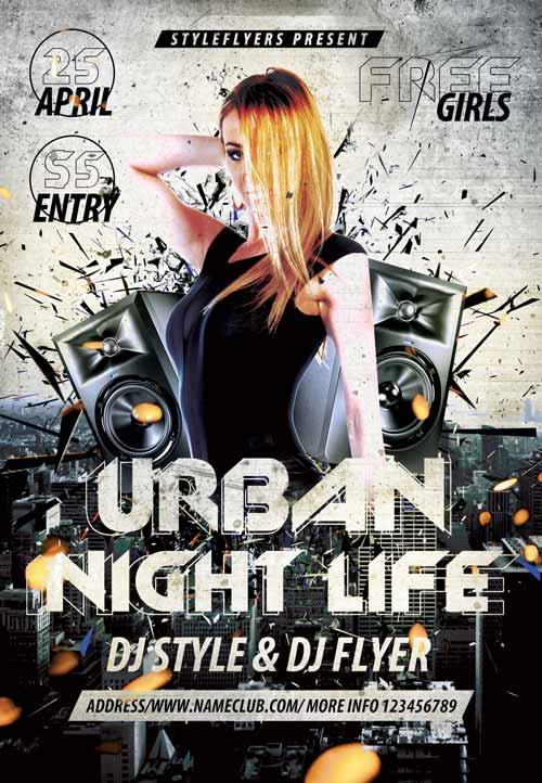 urban_night_life_free_flyer_template