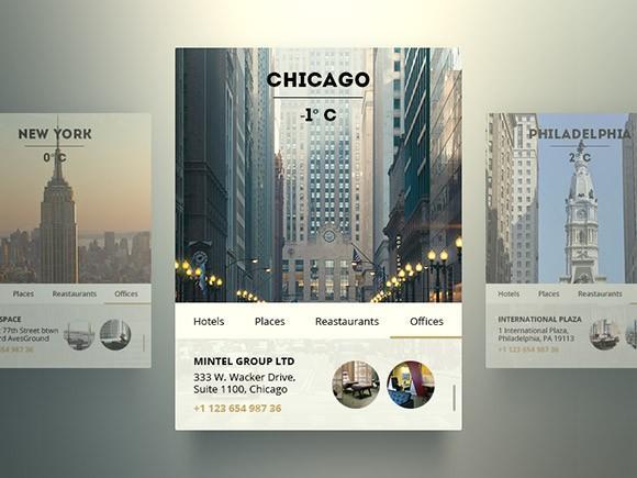 free_psd_city_widgets