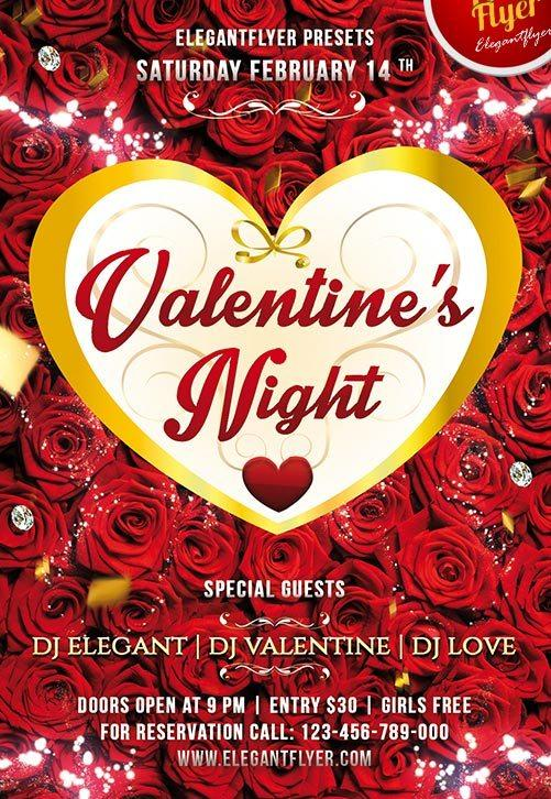 free_valentine´s_night_club_and_party_flyer_psd_template