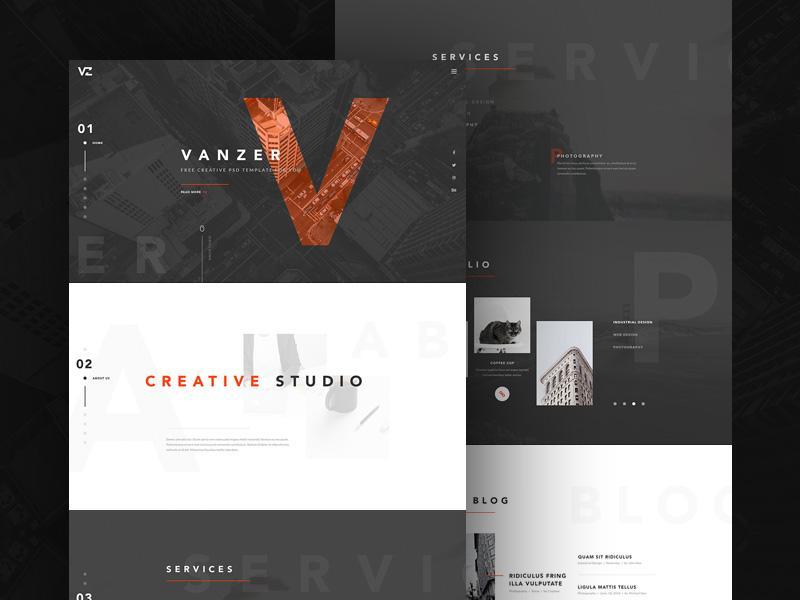 vanzer_portfolio_website