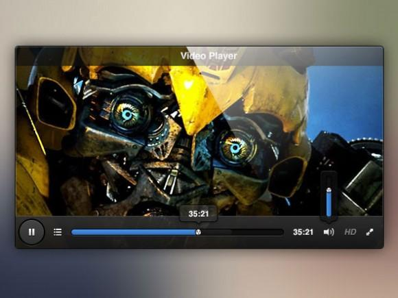 video_player_ui_free_psd