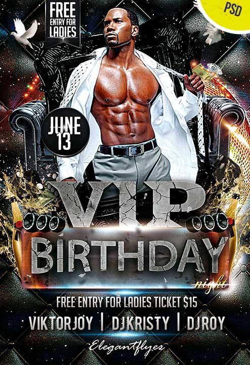 vip_birthday_night_club_and_party_free_flyer_psd_template