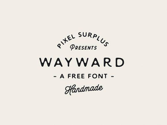 wayward_sans_a_free_handmade_font