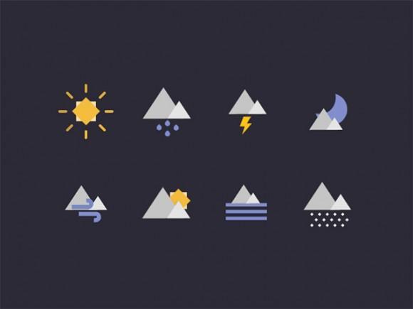 geometric_weather_icons