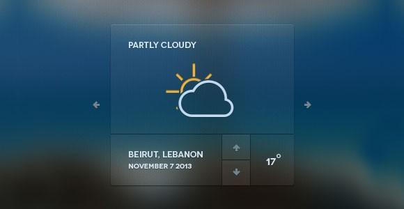 web_weather_forecast_widget_psd