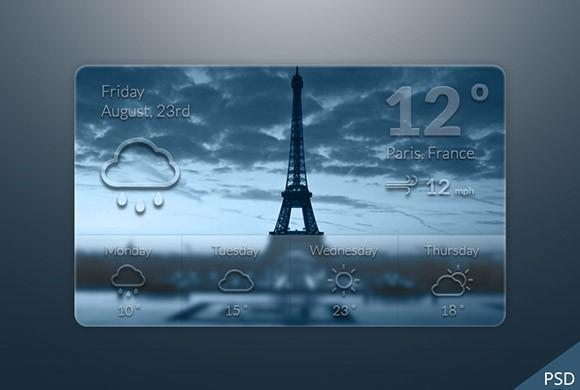 weather_widget_freebie