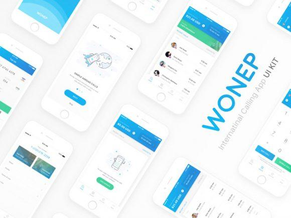 wonep_free_sketch_ui_kit_for_calling_apps