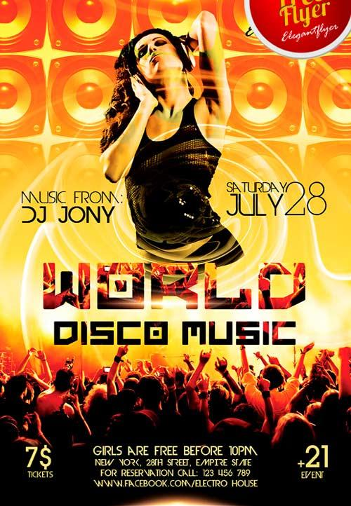 free_world_disco_music_psd_flyer_template