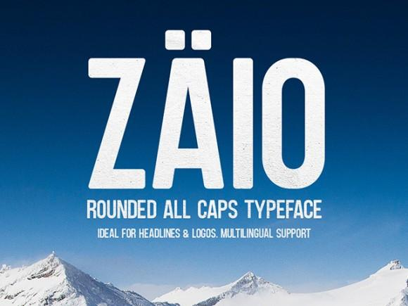 zaio_a_free_all_caps_rounded_font